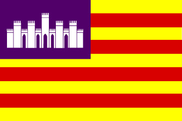 Mallorca Flagge